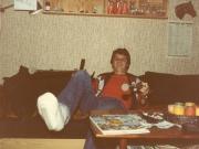 Scan10635 PREBEN BEN I GIPS 22-06-1982