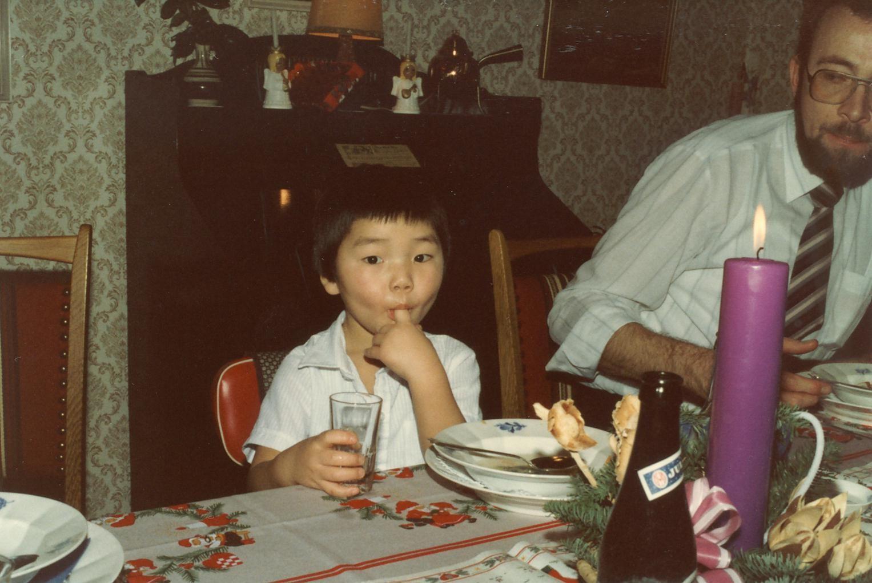 Scan11161 ALLAN OG LEIF JULEAFTEN 1982