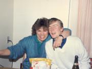 Scan12198 CHARLOTTE OG OLE 19-04-1986