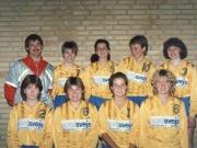 Scan12547 DAME HOLDET 1986 JAN, ANNI, CHARLOTTE, HANNE, LENE, DORTE, CHARLOTTE, ANETTE OG LONE