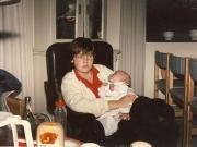 Scan12654 HELLE OG RASMUS MAJ 1987