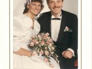 Scan14090 BRYLLUPSBILLEDE JETTE OG JENS OLE 1989