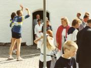 Scan14416 BRYLLUP FORAN KIRKEN 30-06-90