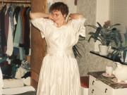 Scan15941 SUSANNE I TRINES BRUDEKJOLE 20-01-96