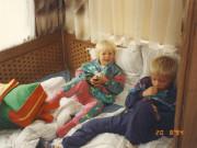 Scan15491 KRISTINE OG JACOB PÅ CAMPING 20-08-94