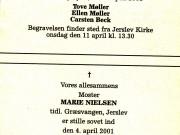 scan16126_1289 DØDSANNONCE MARIE NIELSEN 04-04-01